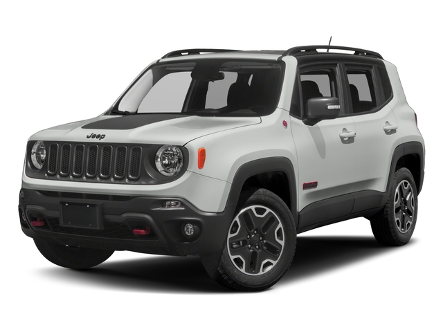 2018 Jeep Renegade Base Price Trailhawk 4x4 Pricing side front view