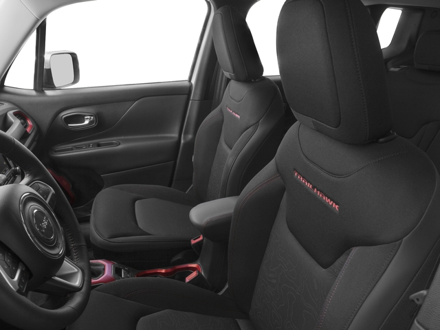 2018 Jeep Renegade Base Price Trailhawk 4x4 Pricing front seat interior