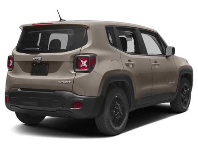 2018 Jeep Renegade Prices and Values Utility 4D Latitude 2WD side rear view