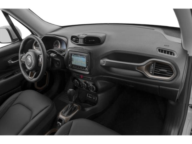 2018 Jeep Renegade Prices and Values Utility 4D Latitude 2WD passenger's dashboard