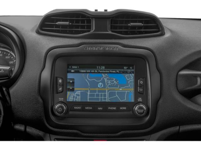 2018 Jeep Renegade Prices and Values Utility 4D Latitude 2WD navigation system