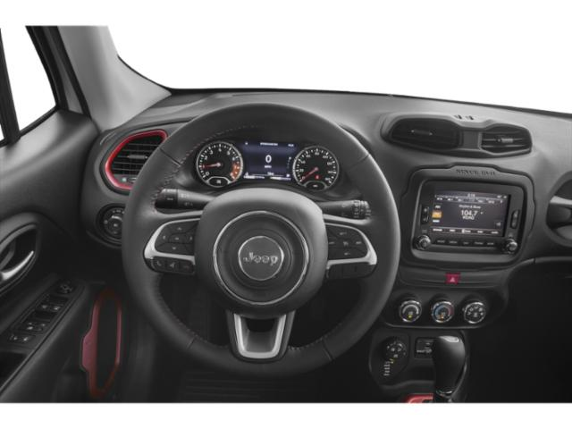 2018 Jeep Renegade Prices and Values Utility 4D Latitude 2WD driver's dashboard