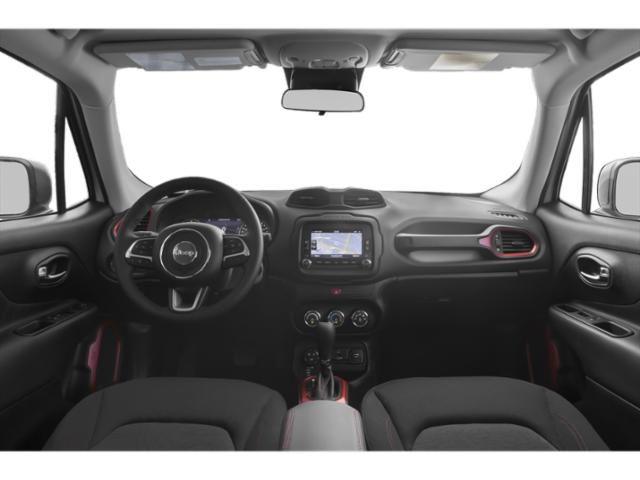2018 Jeep Renegade Prices and Values Utility 4D Latitude 2WD full dashboard