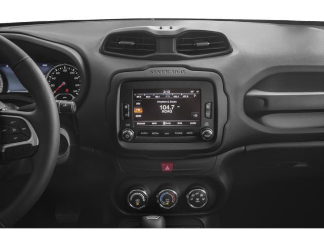 2018 Jeep Renegade Prices and Values Utility 4D Latitude 2WD stereo system