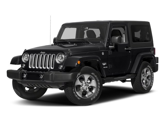 2018 Jeep Wrangler JK Prices and Values Utility 2D Sahara 4WD
