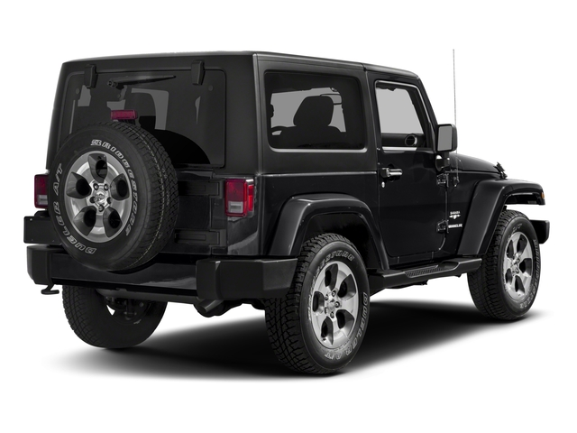 2018 Jeep Wrangler JK Prices and Values Utility 2D Sahara 4WD side rear view
