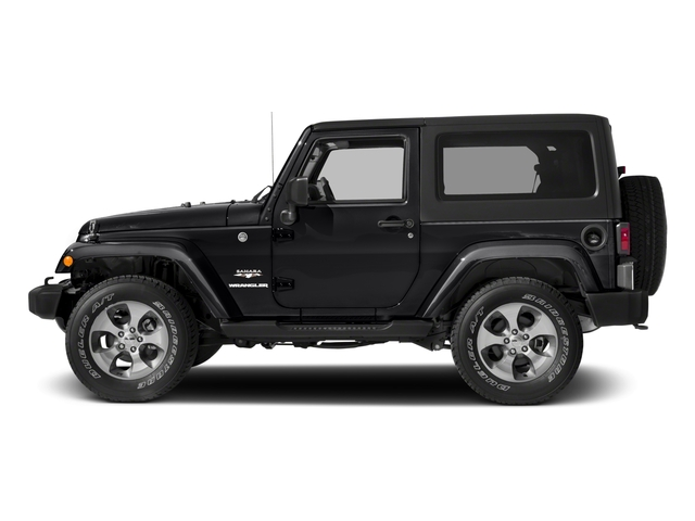 2018 Jeep Wrangler JK Prices and Values Utility 2D Sahara 4WD side view