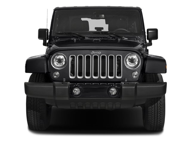 2018 Jeep Wrangler JK Prices and Values Utility 2D Sahara 4WD front view