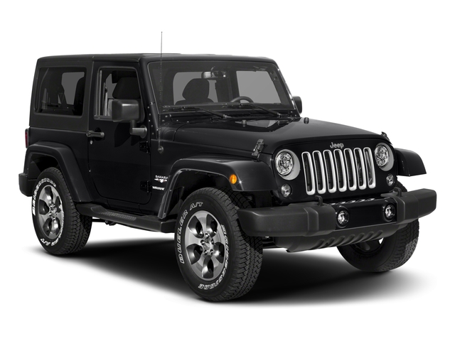 2018 Jeep Wrangler JK Prices and Values Utility 2D Sahara 4WD side front view