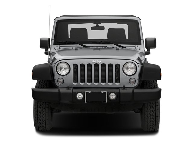 2018 Jeep Wrangler JK Prices and Values Utility 2D Sport 4WD front view