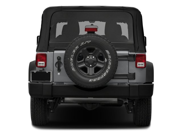 2018 Jeep Wrangler JK Base Price Freedom Edition 4x4 Pricing rear view