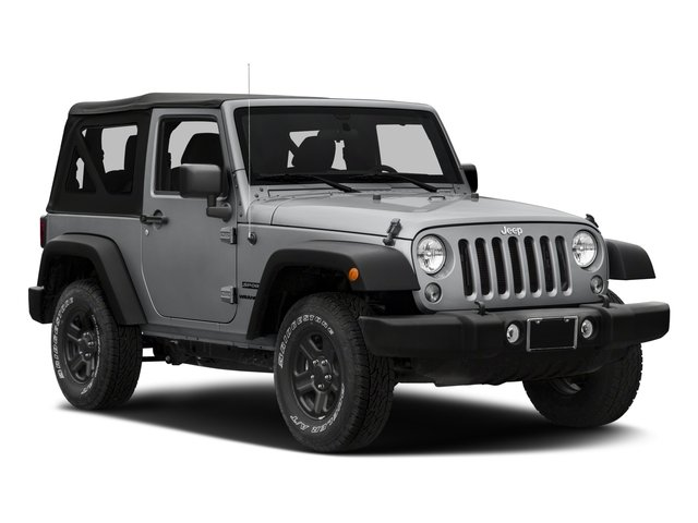 2018 Jeep Wrangler JK Prices and Values Utility 2D Sport 4WD side front view