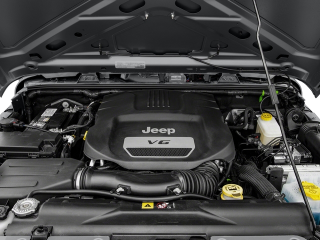 2018 Jeep Wrangler JK Prices and Values Utility 2D Sport 4WD engine