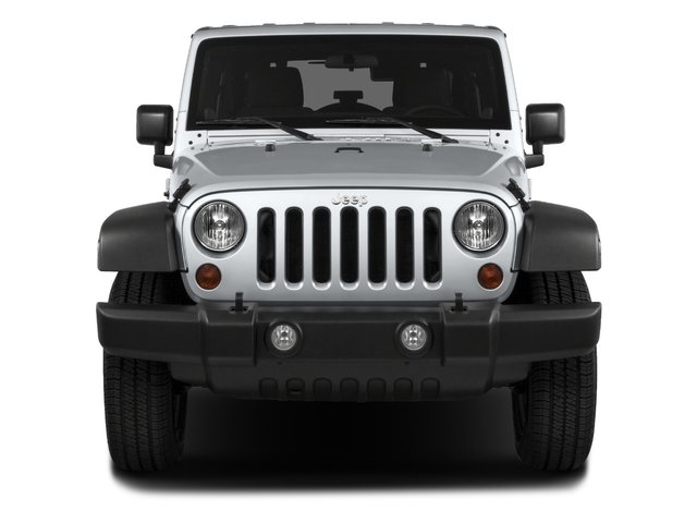 2018 Jeep Wrangler JK Unlimited Pictures Wrangler JK Unlimited Sport RHD 4x4 photos front view
