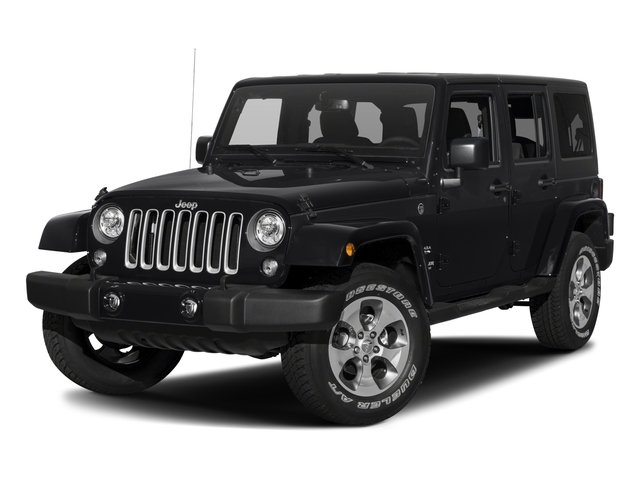 2018 Jeep Wrangler JK Unlimited Base Price Sahara 4x4 Pricing side front view