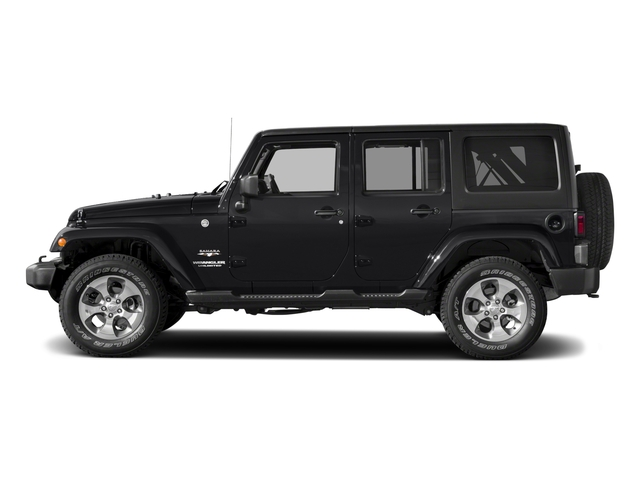 2018 Jeep Wrangler JK Unlimited Base Price Sahara 4x4 Pricing side view