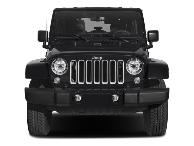 2018 Jeep Wrangler JK Unlimited Base Price Sahara 4x4 Pricing front view