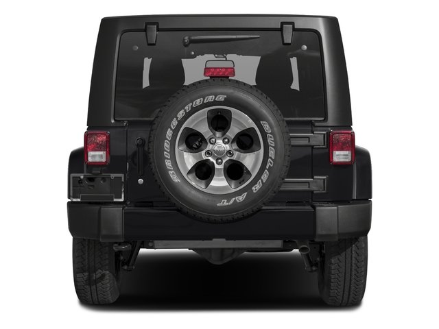2018 Jeep Wrangler JK Unlimited Base Price Altitude 4x4 Pricing rear view