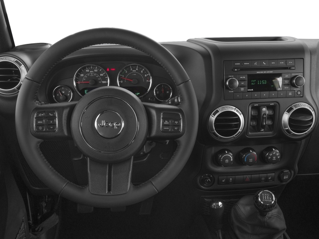 2018 Jeep Wrangler JK Unlimited Base Price Altitude 4x4 Pricing driver's dashboard