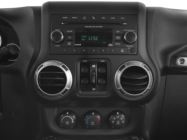 2018 Jeep Wrangler JK Unlimited Base Price Altitude 4x4 Pricing stereo system