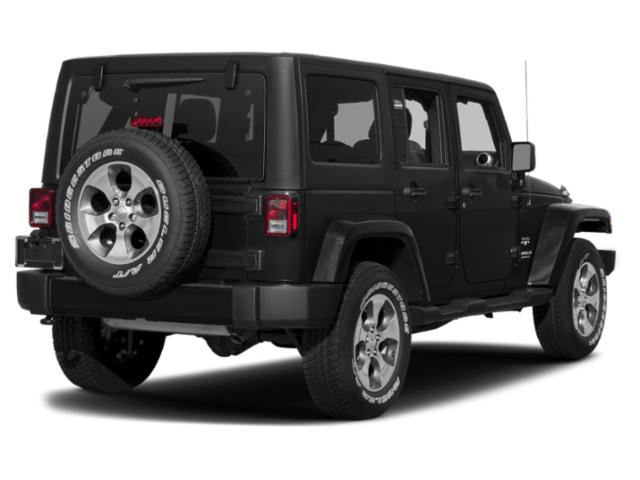 2018 Jeep Wrangler JK Unlimited Prices and Values Utility 4D Unlimited Sport 4WD side rear view