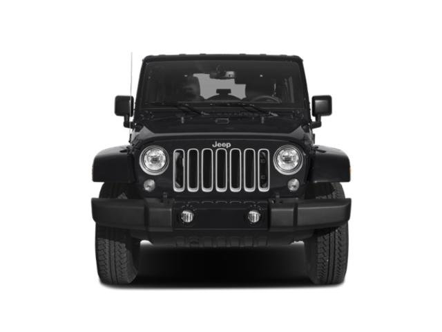 2018 Jeep Wrangler JK Unlimited Prices and Values Utility 4D Unlimited Sport 4WD front view