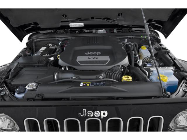 2018 Jeep Wrangler JK Unlimited Prices and Values Utility 4D Unlimited Sport 4WD engine