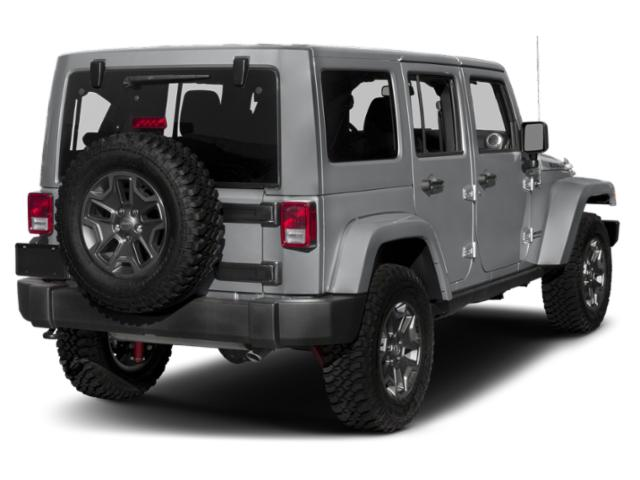 2018 Jeep Wrangler JK Unlimited Pictures Wrangler JK Unlimited Util 4D Unlimited Rubicon Recon 4WD photos side rear view