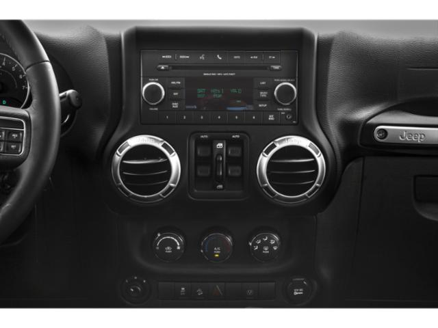 2018 Jeep Wrangler JK Unlimited Prices and Values Utility 4D Unlimited Sport 4WD stereo system