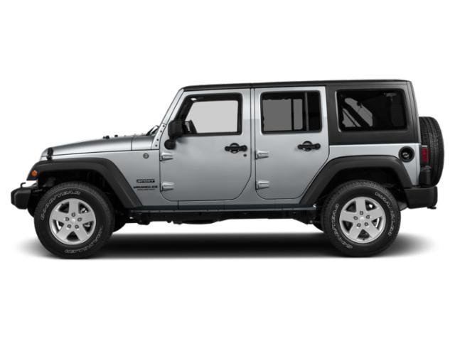 2018 Jeep Wrangler JK Unlimited Prices and Values Utility 4D Unlimited Sport 4WD side view