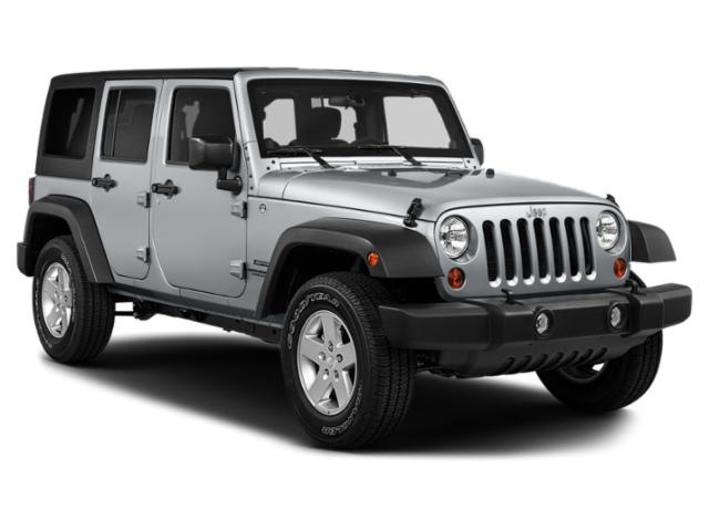 2018 Jeep Wrangler JK Unlimited Prices and Values Utility 4D Unlimited Sport 4WD side front view
