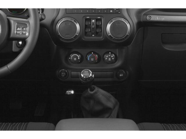 2018 Jeep Wrangler JK Unlimited Prices and Values Utility 4D Unlimited Sport 4WD center console