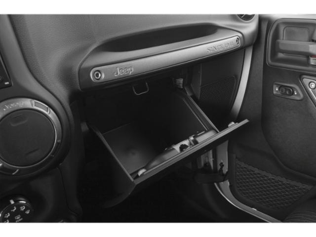 2018 Jeep Wrangler JK Unlimited Prices and Values Utility 4D Unlimited Sport 4WD glove box