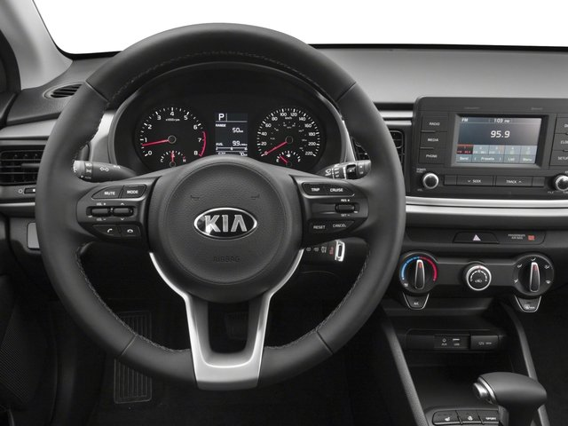 2018 Kia Rio 5-door Pictures Rio 5-door S Auto photos driver's dashboard