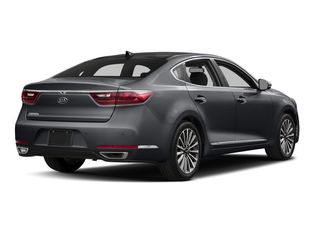 2018 Kia Cadenza Pictures Cadenza Premium Sedan photos side rear view