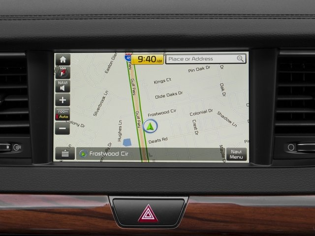 2018 Kia Cadenza Pictures Cadenza Premium Sedan photos navigation system
