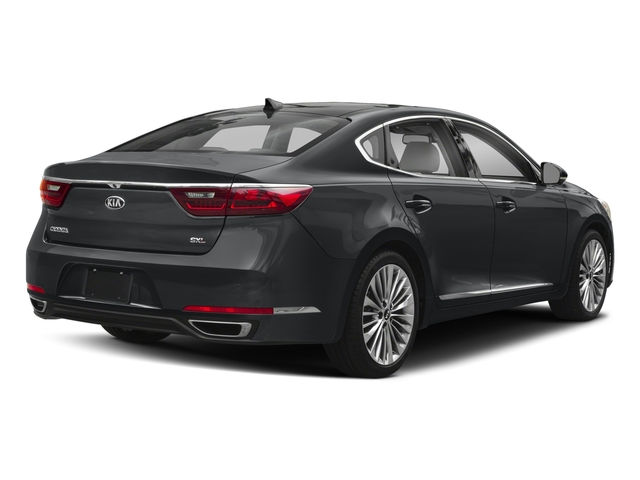 2018 Kia Cadenza Base Price Limited Sedan Pricing side rear view