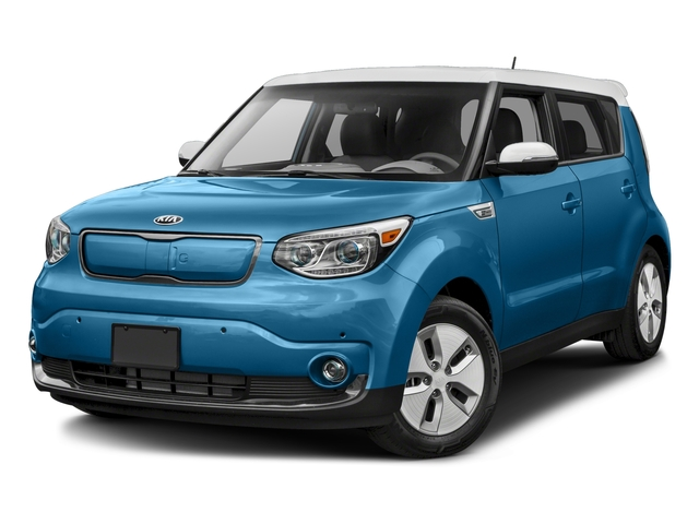 2018 Kia Soul EV Base Price EV-e Auto Pricing side front view
