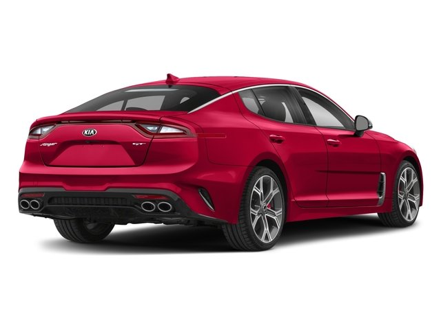 2018 Kia Stinger Base Price GT2 RWD Pricing side rear view