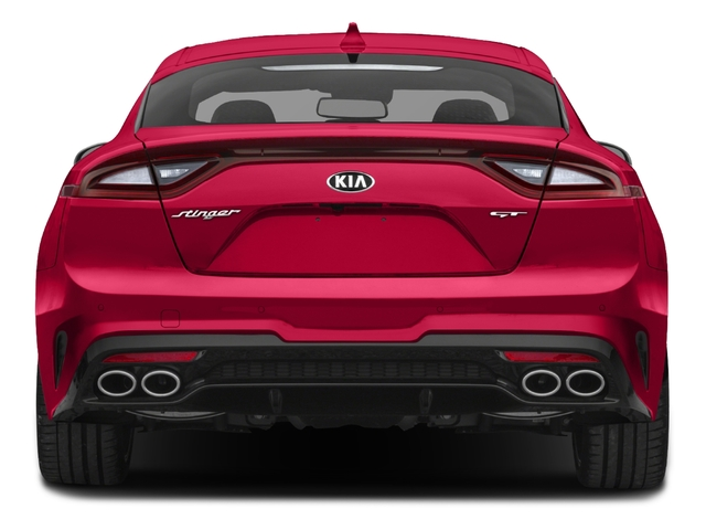 2018 Kia Stinger Base Price GT2 RWD Pricing rear view