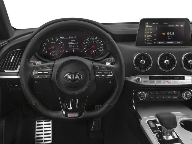 2018 Kia Stinger Base Price GT2 RWD Pricing driver's dashboard