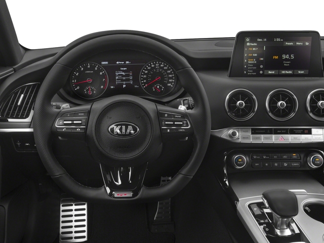 2018 Kia Stinger Base Price GT RWD Pricing driver's dashboard