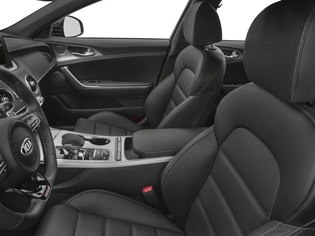 2018 Kia Stinger Base Price GT RWD Pricing front seat interior
