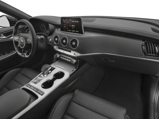 2018 Kia Stinger Base Price GT2 RWD Pricing passenger's dashboard
