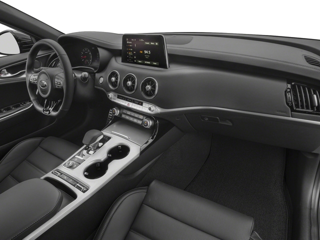 2018 Kia Stinger Base Price GT RWD Pricing passenger's dashboard