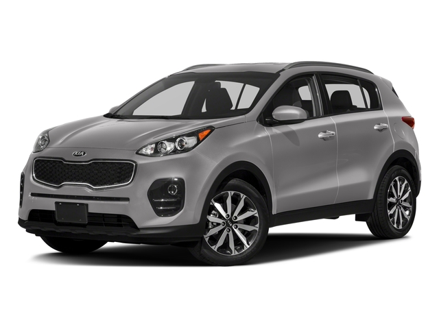 2018 Kia Sportage Base Price EX AWD Pricing side front view