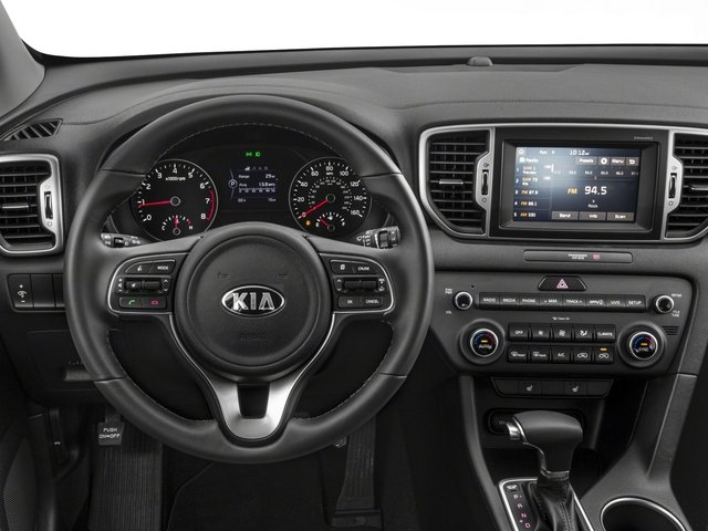 2018 Kia Sportage Base Price EX AWD Pricing driver's dashboard
