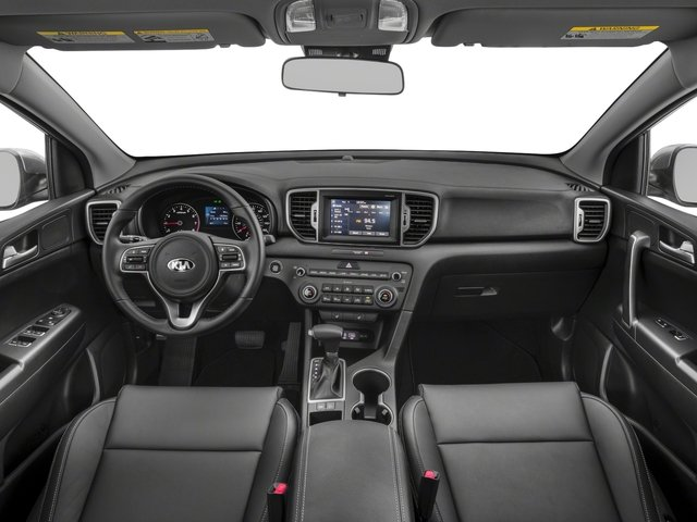 2018 Kia Sportage Base Price EX AWD Pricing full dashboard