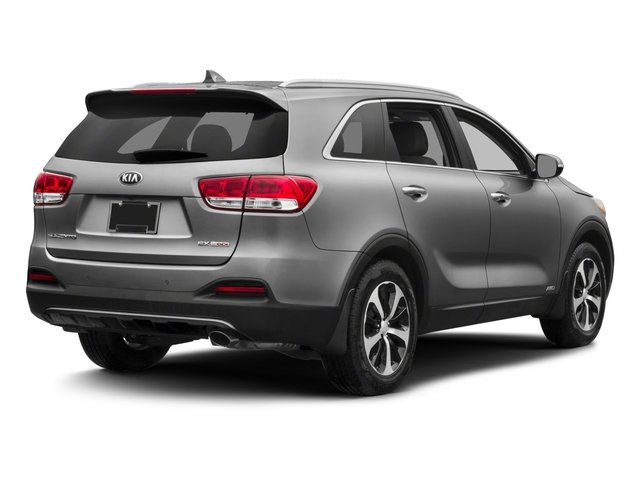 2018 Kia Sorento Prices and Values Utility 4D EX 2WD I4 side rear view