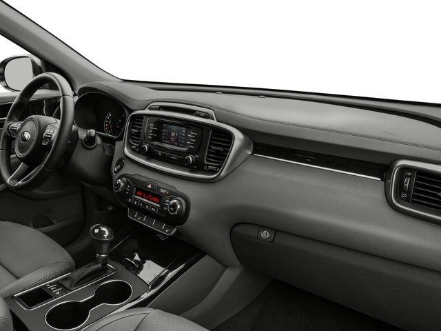 2018 Kia Sorento Prices and Values Utility 4D EX 2WD I4 passenger's dashboard